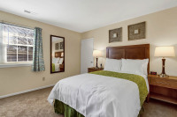 Furnished apartments in Wilkes-Barre with quality bedding