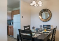 Corporate housing dining room in Williamsport