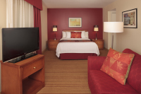 Contemporary Short Term Extended Stay Studio Suite