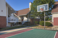 On site basket ball court at Residence Inn by Marriott